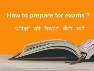 How to prepare for exams?